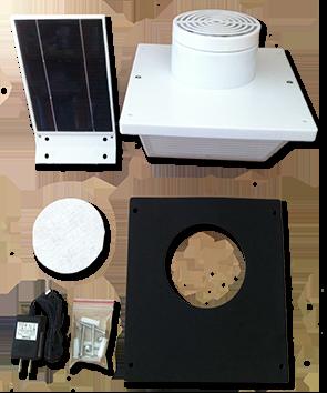 Solatron Incorporated Solar Ventilator Solar Roof Vent