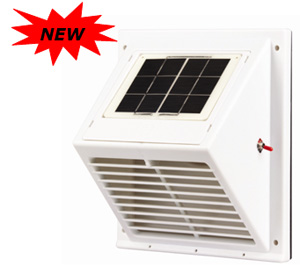 Solatron Incorporated Solar Ventilator Solar Roof Vent Solar Wall Fan Solar Vent